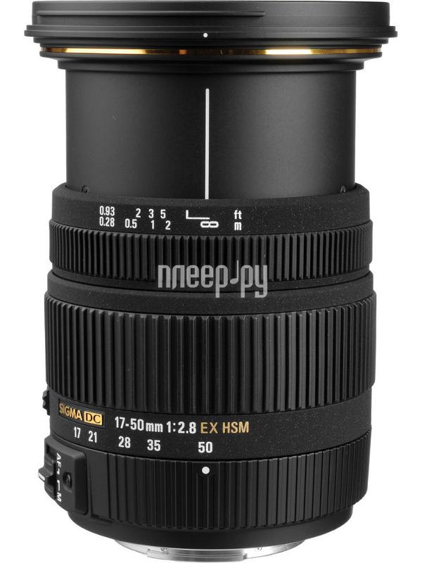 Объектив Sigma Sony / Minolta AF 17-50 mm F / 2.8 DC EX HSM купить
