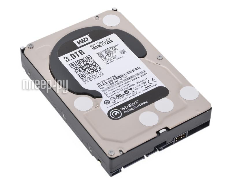 Жесткий диск 3Tb - Western Digital WD3003FZEX  Pleer.ru  6450.000
