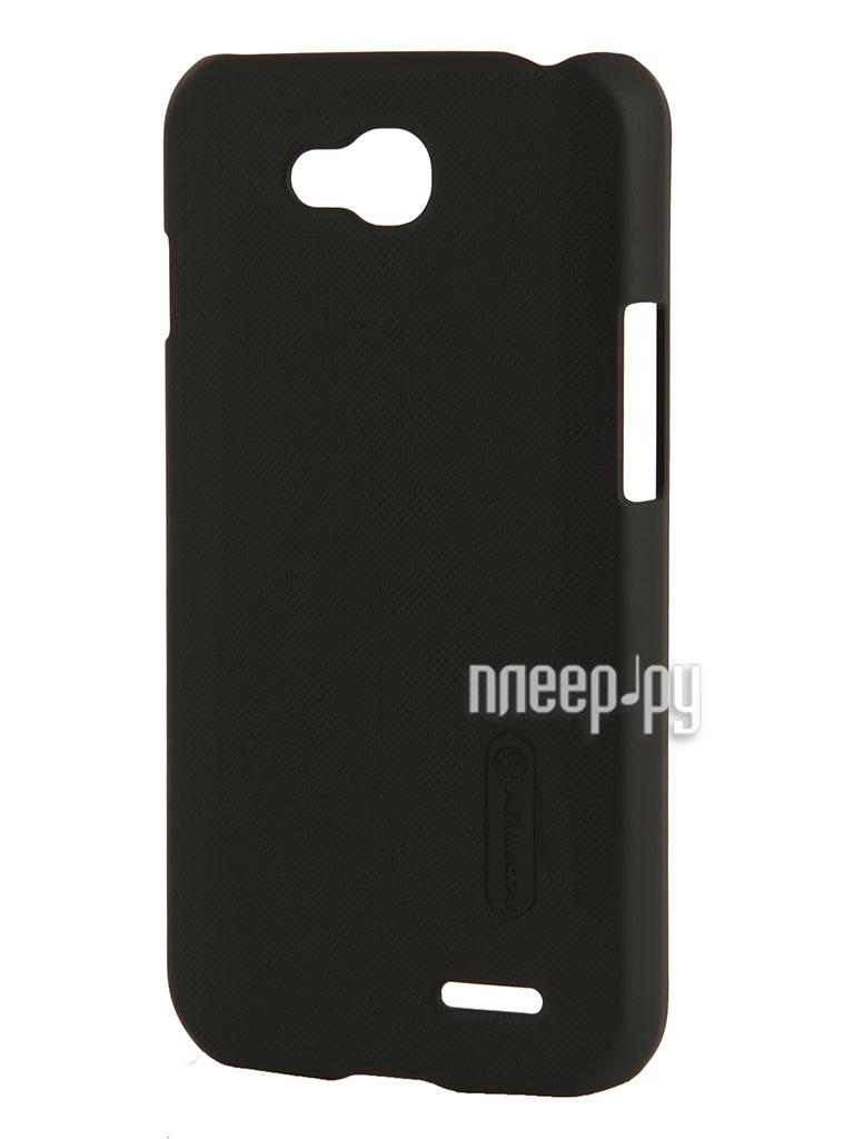 Аксессуар Чехол LG L90 Nillkin Super Frosted Shield Black T-N-LD410-002  Pleer.ru  1099.000