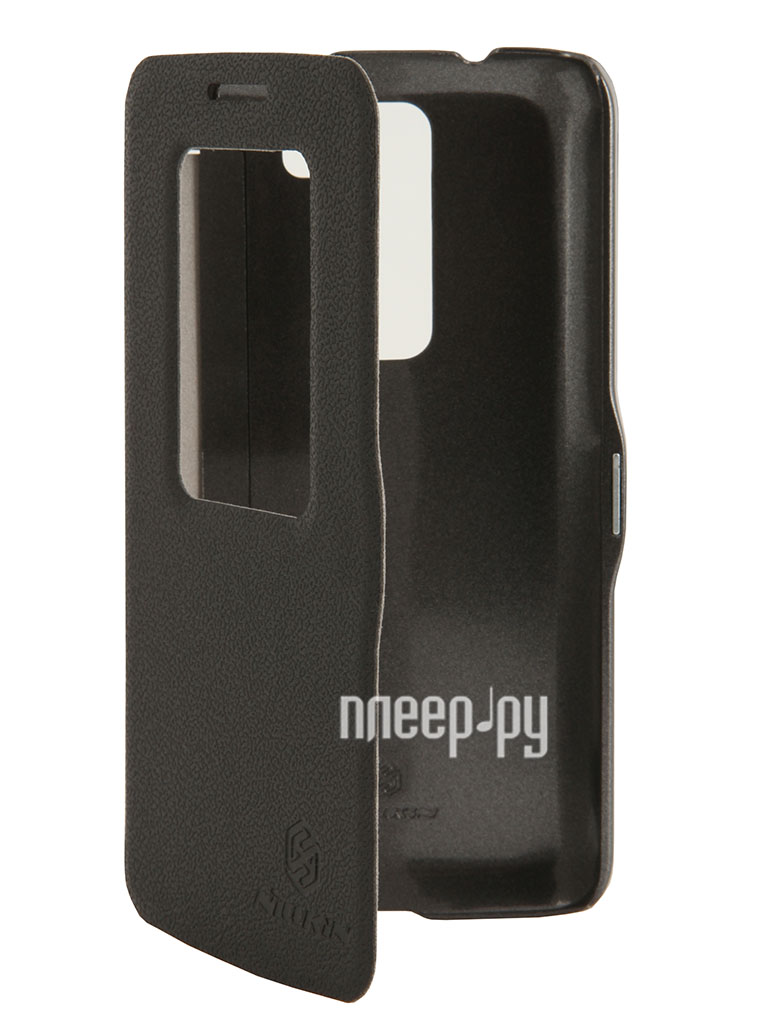 Аксессуар Чехол LG G2 Mini Nillkin Fresh Series Leather Case Black T-N-LD618-001  Pleer.ru  1199.000