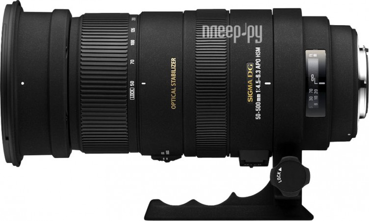 Объектив Sigma Canon AF 50-500 mm F/4.5-6.3 APO DG OS HSM
