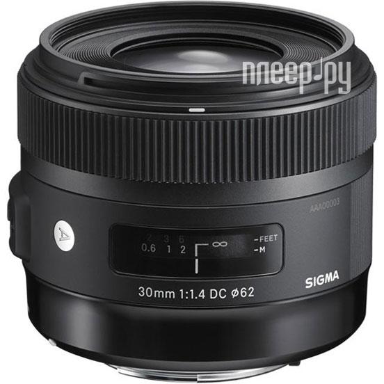 Объектив Sigma Sony / Minolta AF 30 mm F/1.4 DC HSM ART