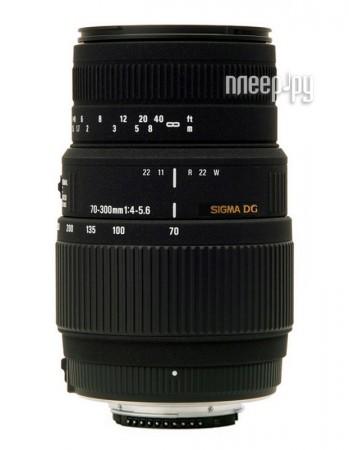 Объектив Sigma Sony / Minolta AF 70-300 mm F / 4-5.6 DG MACRO