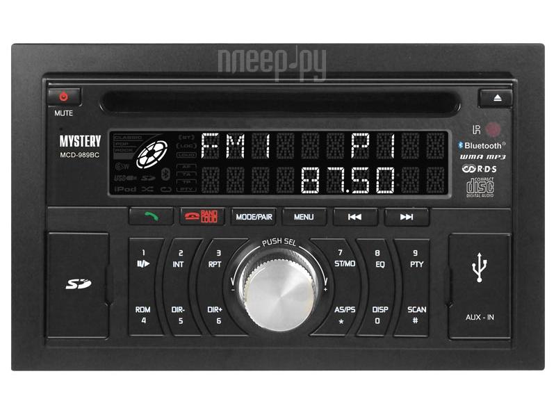 Автомагнитола Mystery MCD-989BC  Pleer.ru  2688.000