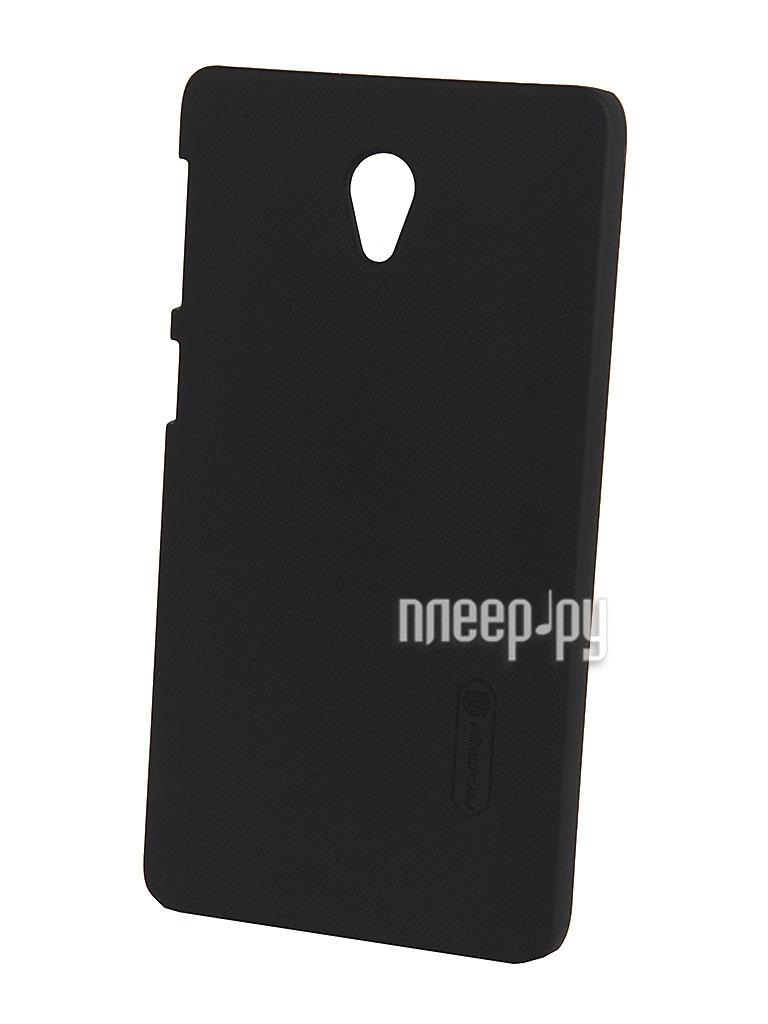 Аксессуар Чехол-накладка Lenovo S860 Nillkin Super Frosted Shield T-N-LS860-002 Black  Pleer.ru  1100.000