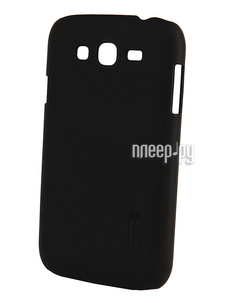 Аксессуар Чехол-накладка Samsung GT-i9060 Galaxy Grand Neo Nillkin Super Frosted Shield T-N-SI9160-002 Black  Pleer.ru  1100.000