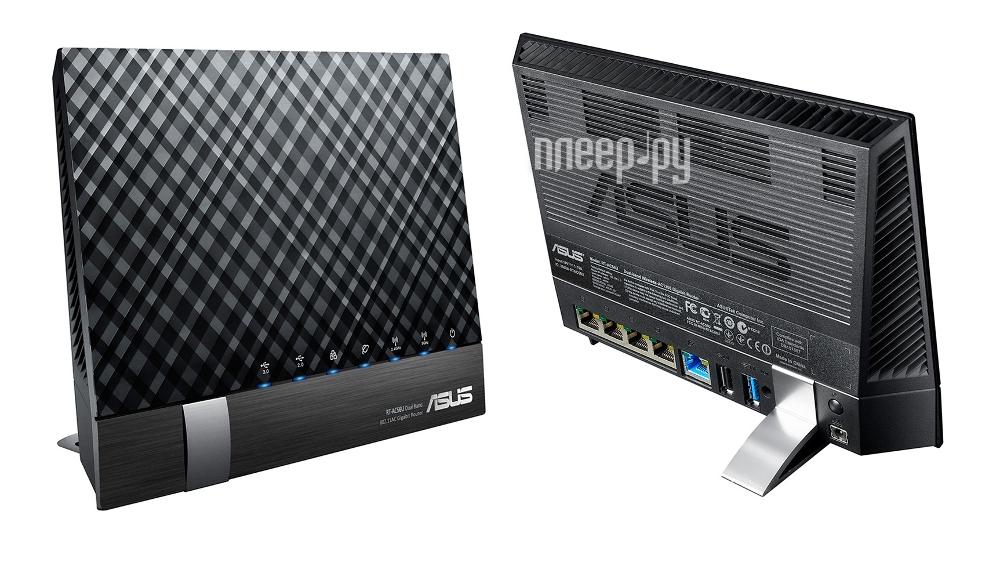 Wi-Fi роутер ASUS RT-AC56U  Pleer.ru  5001.000