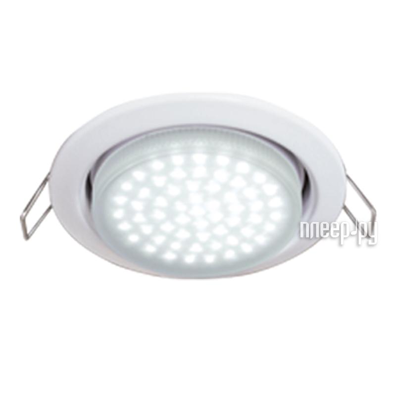 Светильник Ecola Light GX53 H4 4.2W 220V 2800K матовое стекло White TW5W42ELC  Pleer.ru  225.000