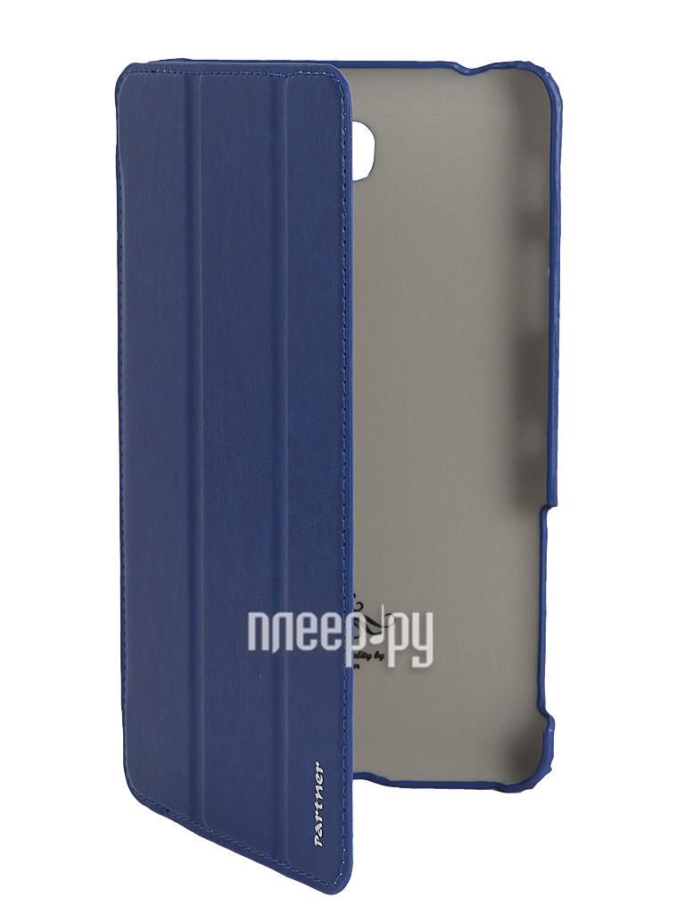 Аксессуар Чехол Partner SmartCover for Samsung Galaxy Tab 4 7.0 SM-T230 / 231 Blue  Pleer.ru  925.000