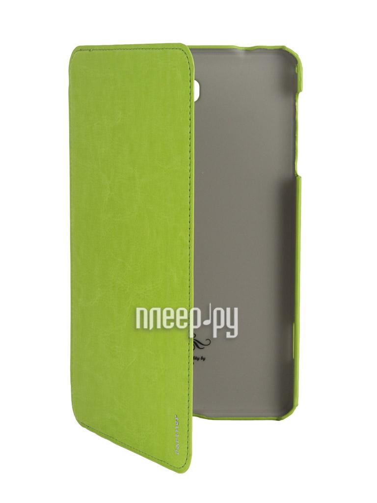 Аксессуар Чехол Samsung SM-T330 / SM-T331 Galaxy Tab 4 8.0 Partner SmartCover Green  Pleer.ru  425.000