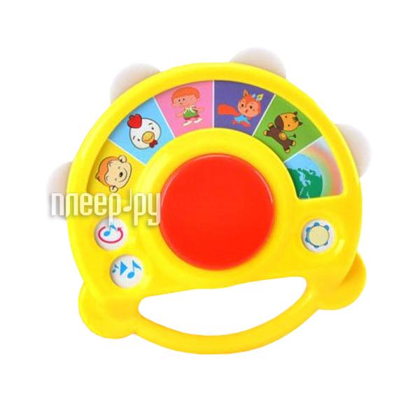 Детский музыкальный инструмент Shantou Gepai Бубен электронный BA8002A