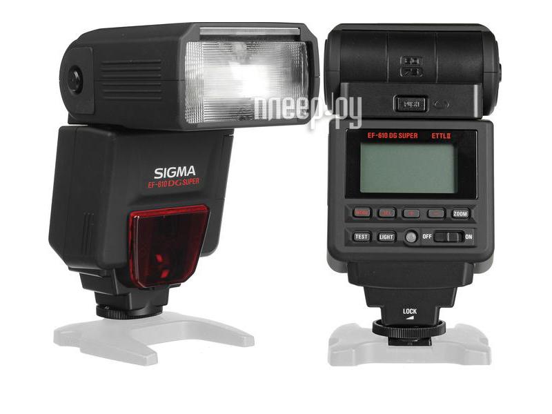 Вспышка Sigma EF 610 DG Super Nikon