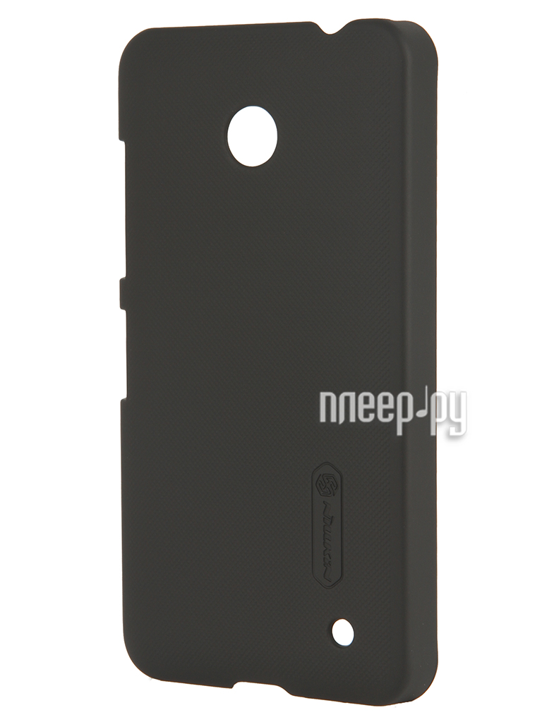 Аксессуар Чехол-накладка Nokia Lumia 630 Nillkin Super Frosted Shield Black T-N-NL630-002  Pleer.ru  1101.000