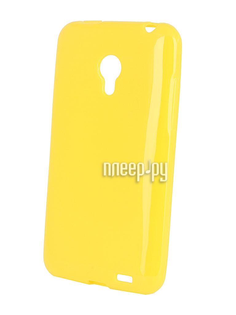 Аксессуар Чехол Meizu MX3 Yellow  Pleer.ru  1049.000