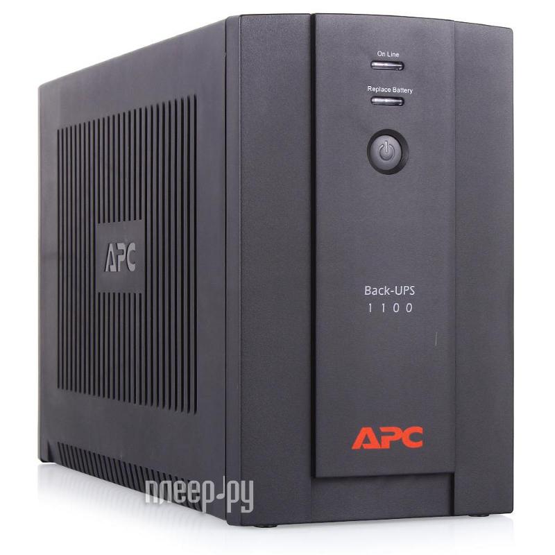 Источник бесперебойного питания APC Back-UPS RS 1100VA 660W BX1100CI-RS  Pleer.ru  6811.000