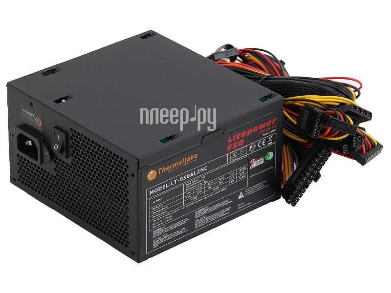 Блок питания Thermaltake Litepower LT-550P 550W  Pleer.ru  1988.000