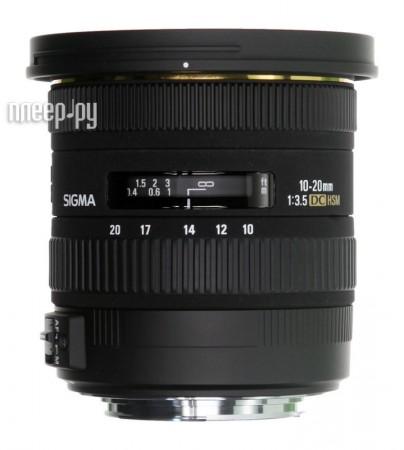 Объектив Sigma Sony / Minolta AF 10-20 mm F/3.5 EX DC HSM  Pleer.ru  22148.000