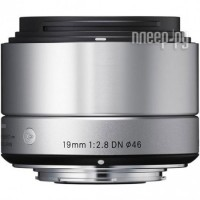 Объектив Sigma Micro 4/3 AF 19 mm F/2.8 DN ART for Micro Four Thirds Silver