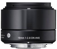 Объектив Sigma Micro 4/3 AF 19 mm F/2.8 DN ART for Micro Four Thirds Black