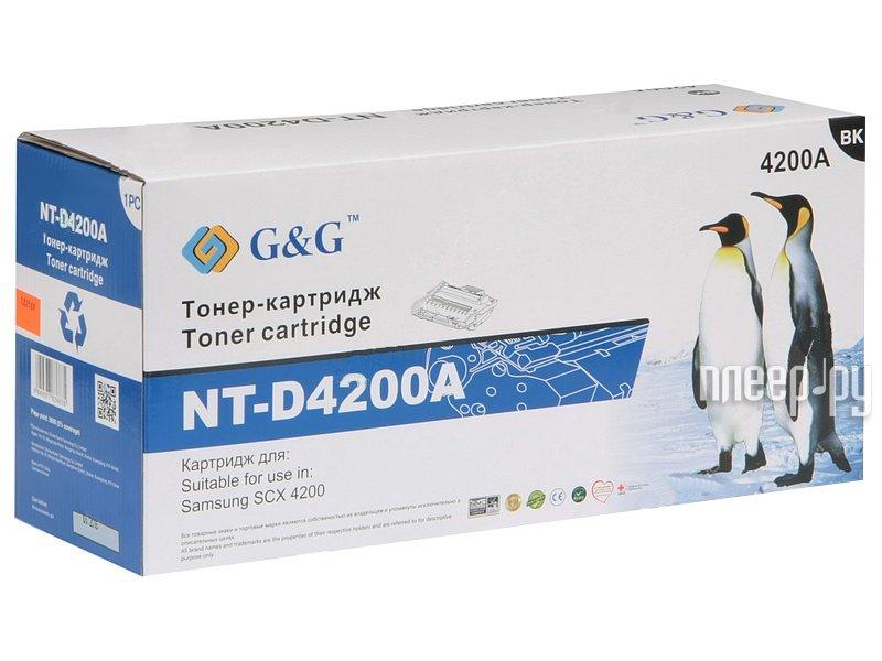 Картридж G&G NT-D4200A for Samsung SCX-4200/4220