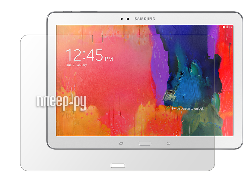 Аксессуар Защитная пленка Samsung Galaxy Tab 4 10.1 LuxCase антибликовая 80848  Pleer.ru  619.000