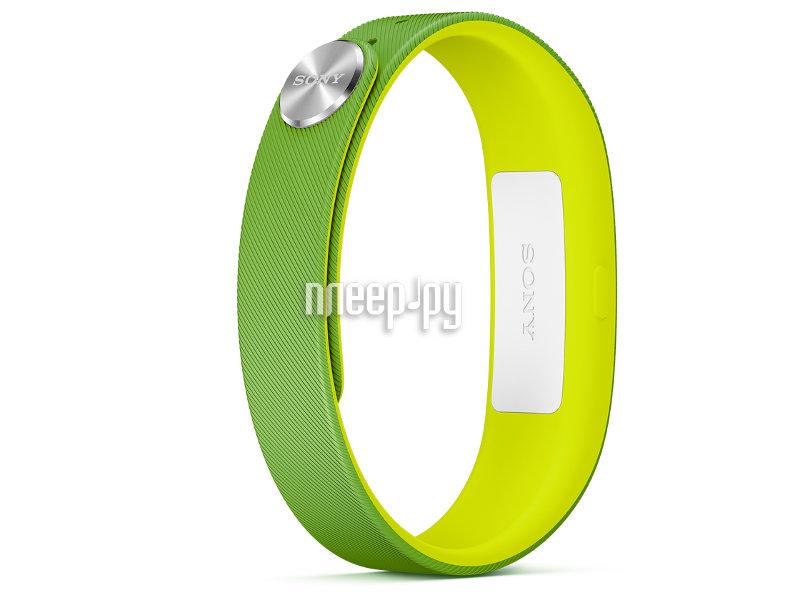 Умный браслет Sony SmartBand SWR10 Green  Pleer.ru  2808.000