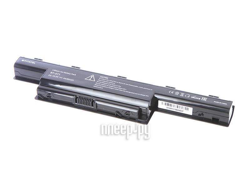 Аккумулятор Acer Aspire 5551G/5552G/5741 Series AS10D31/AS10D41/AS10D61/AS10D71/AS10D73 Pitatel 5200mAh BT-071  Pleer.ru  1899.000