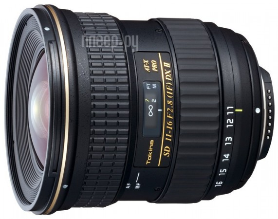 Объектив Tokina Sony / Minolta 11-16 mm F/2.8 AT-X Pro DX II  Pleer.ru  22245.000