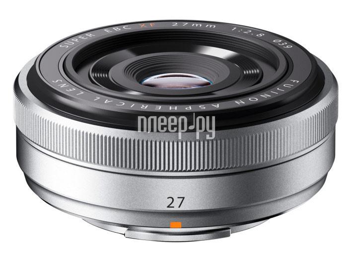 Объектив Fujifilm XF 27mm f/2.8  Pleer.ru  17017.000