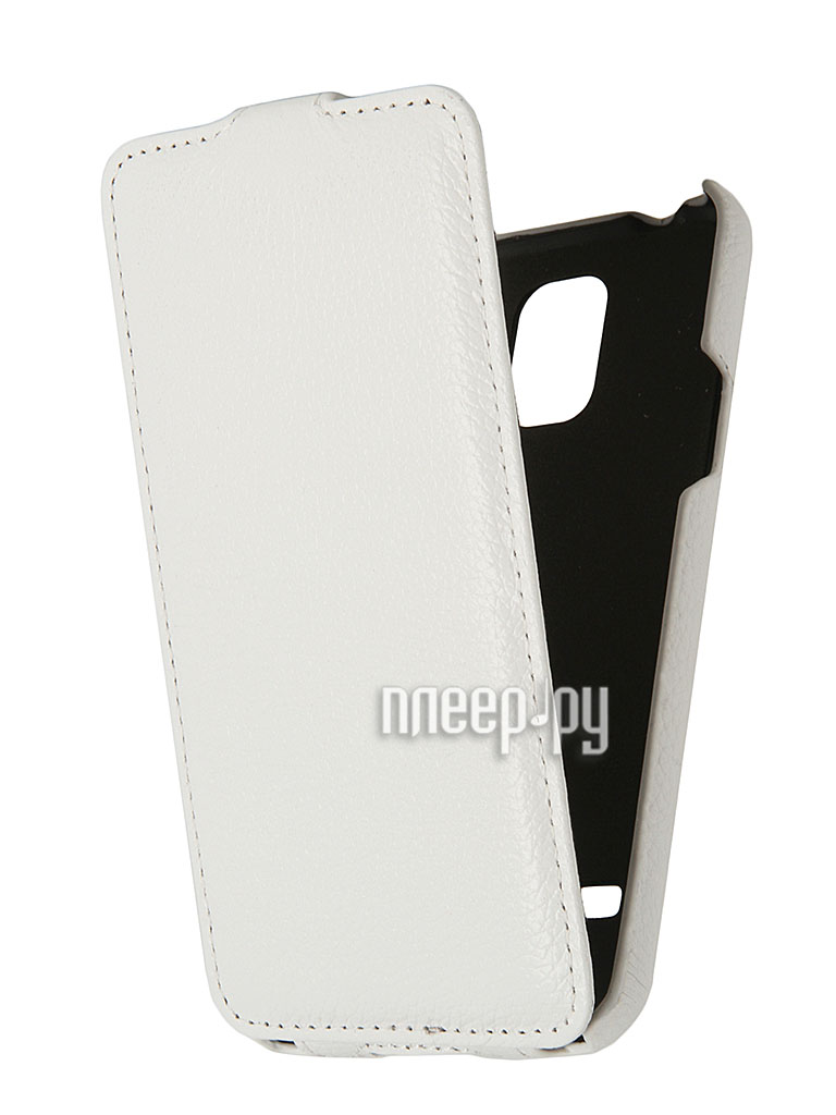 Аксессуар Чехол Clever Case Leather Shell for Samsung Galaxy S5 тисненая  Pleer.ru  1088.000