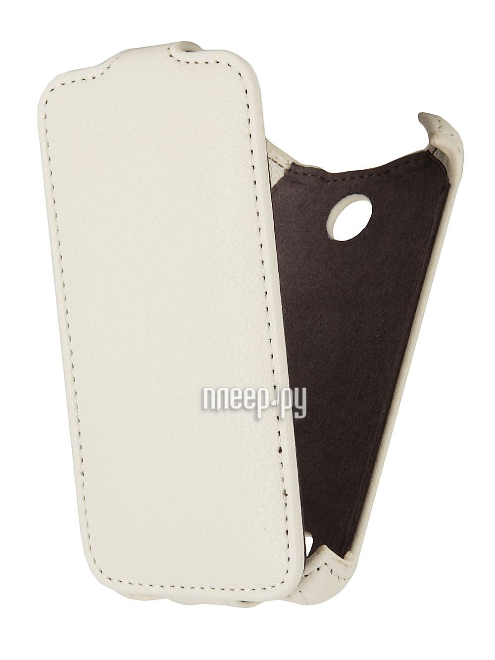 Аксессуар Чехол Sony Xperia E1 Dual Gecko White  Pleer.ru  998.000