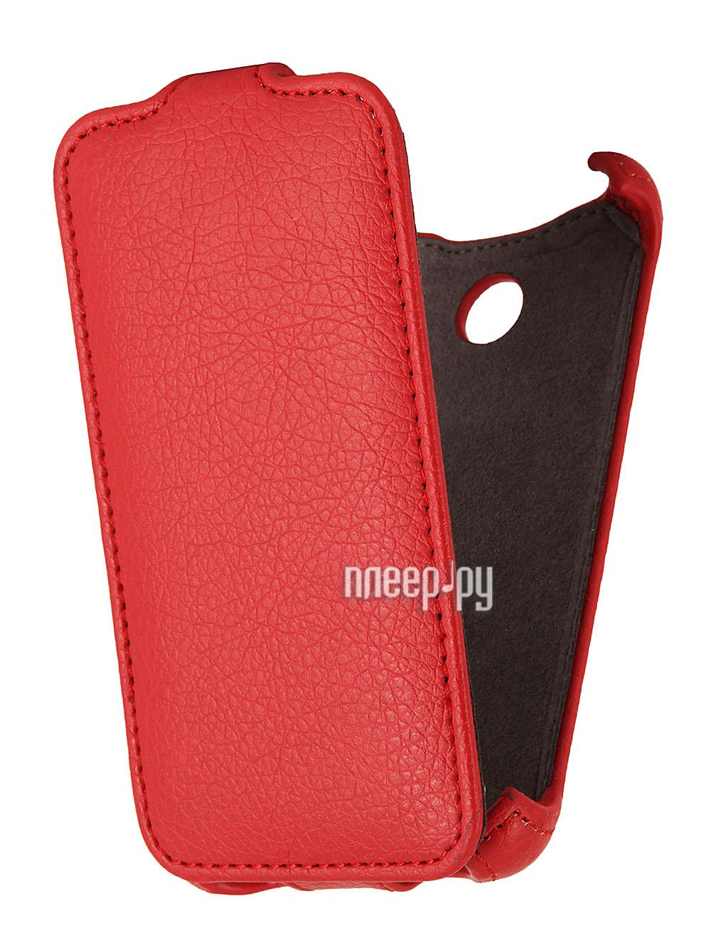 Аксессуар Чехол Sony Xperia E1 Dual Gecko Red  Pleer.ru  998.000