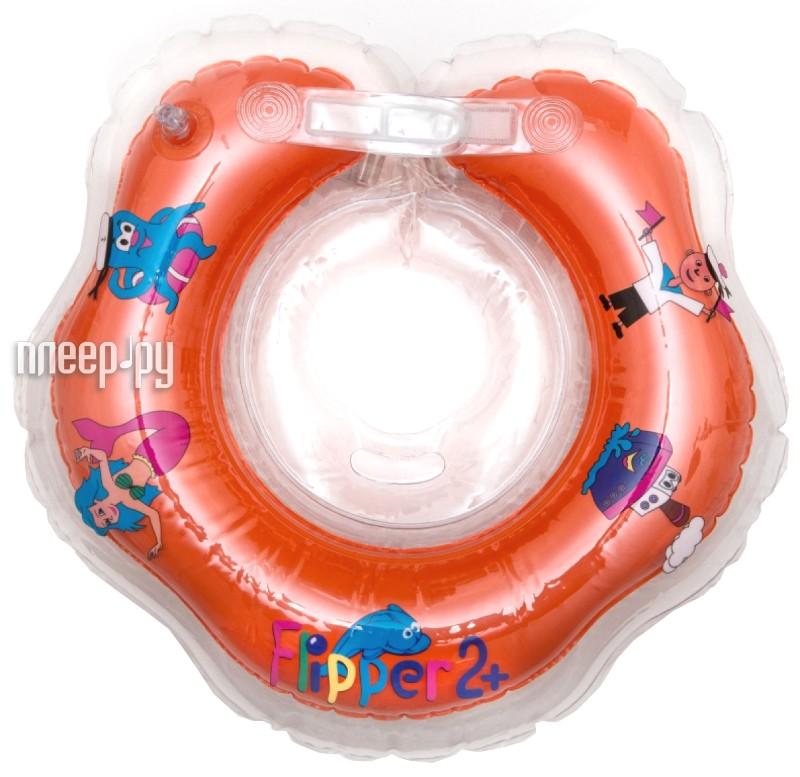 Надувной круг Roxy-Kids Flipper 2+ FL002 Orange  Pleer.ru  167.000