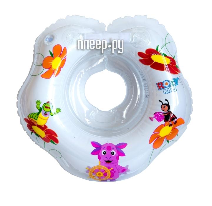 Надувной круг Roxy-Kids Лунтик 2+ LR002 Transparent  Pleer.ru  302.000