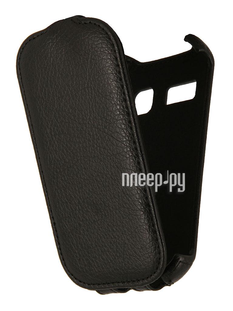 Аксессуар Чехол Alcatel OneTouch 4033D Pop C3 EcoStyle Flip Sheel Black ESH-F-ALC4033D-BL  Pleer.ru  264.000