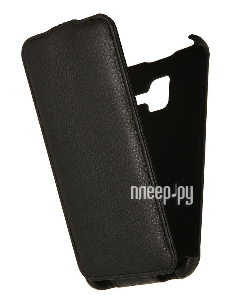 Аксессуар Чехол Lenovo A850 + EcoStyle Flip Sheel Black ESH-F-LA850+-BL  Pleer.ru  264.000