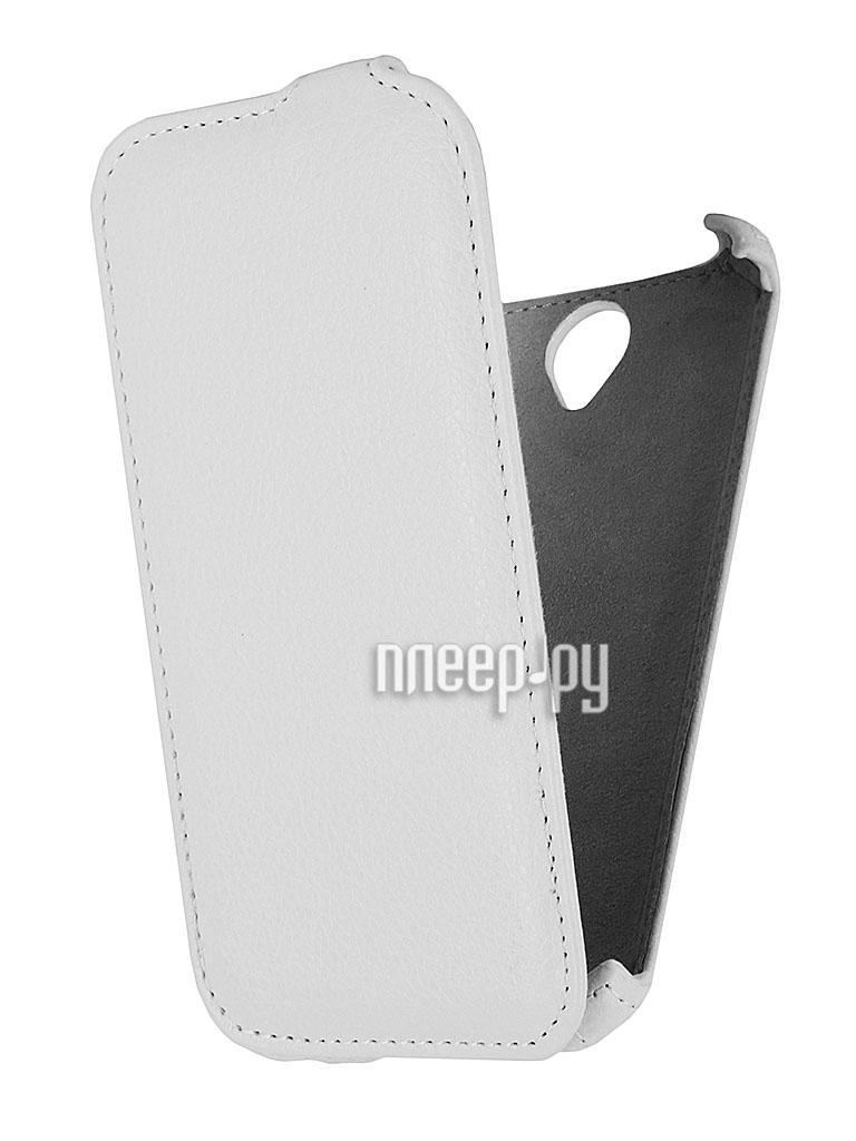 Аксессуар Чехол Lenovo A850 EcoStyle Flip Sheel White ESH-F-LA850-WH  Pleer.ru  264.000