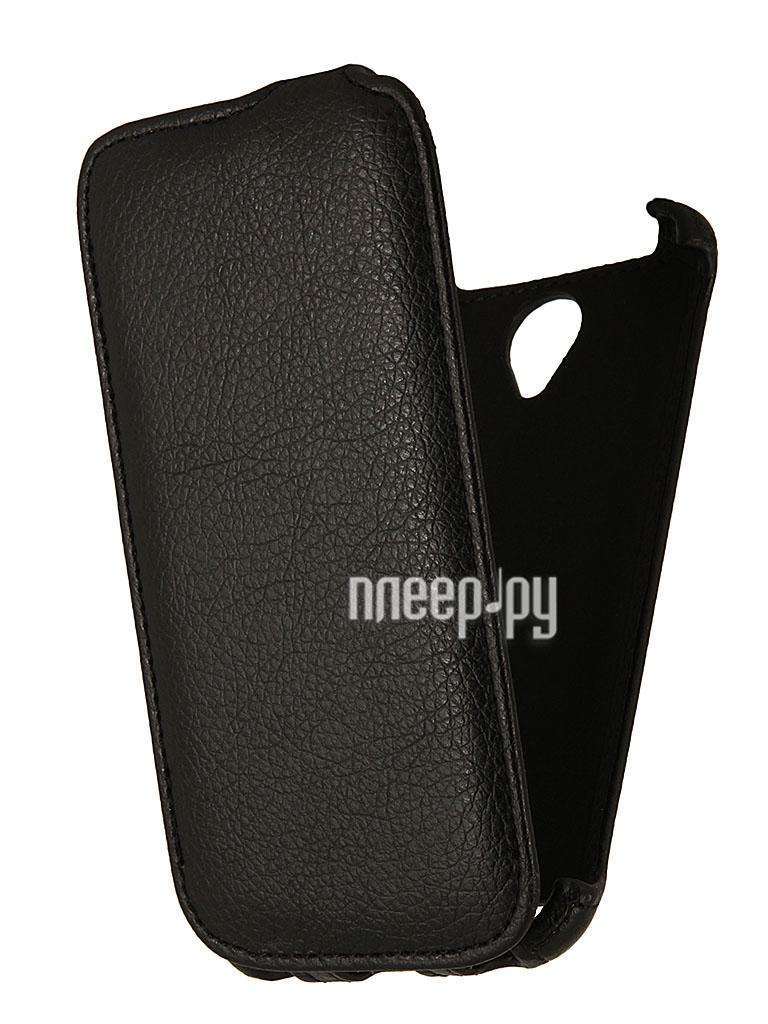 Аксессуар Чехол Lenovo S650 EcoStyle Flip Sheel Black ESH-F-LS650-BL  Pleer.ru  264.000