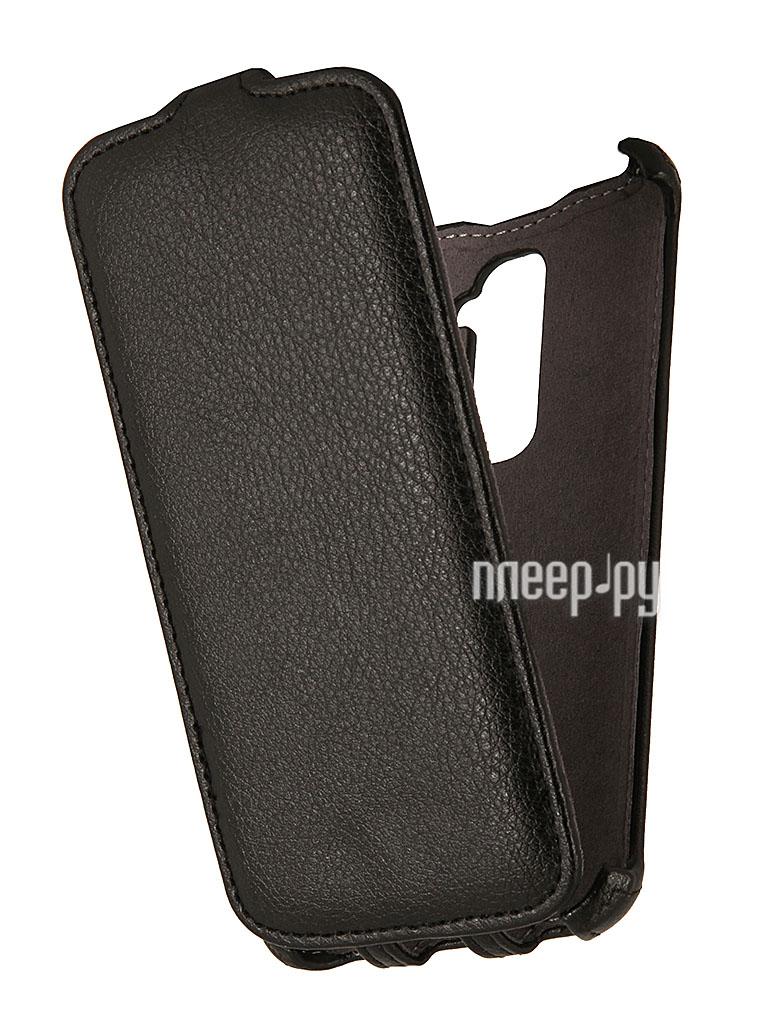 Аксессуар Чехол LG G2 Flex EcoStyle Flip Sheel Black ESH-F-LGG2-BL  Pleer.ru  1069.000