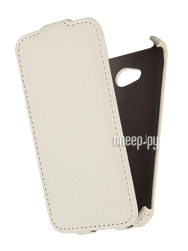 Аксессуар Чехол LG L70 D325 EcoStyle Flip Sheel White ESH-F-LGL70-WH  Pleer.ru  1069.000