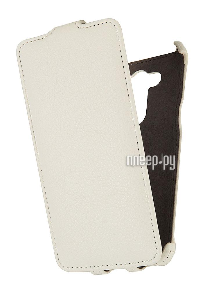 Аксессуар Чехол LG G3 D855 EcoStyle Flip Sheel White ESH-F-LGG3-WH  Pleer.ru  1069.000