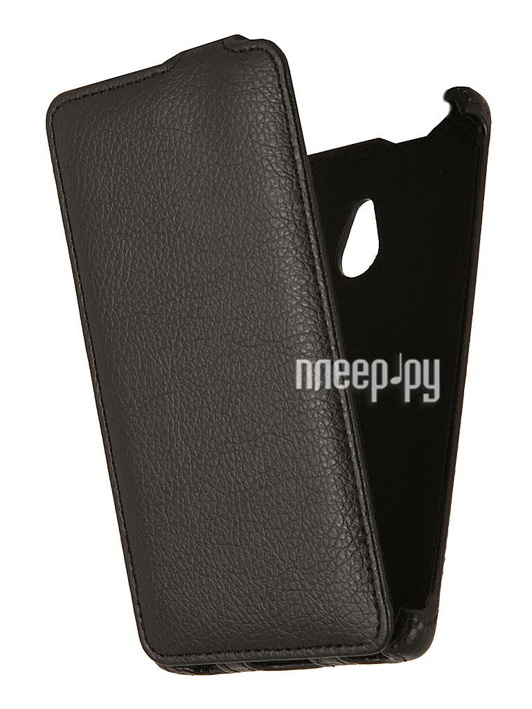 Аксессуар Чехол Nokia XL EcoStyle Flip Sheel Black ESH-F-NOKXL-BL  Pleer.ru  1069.000