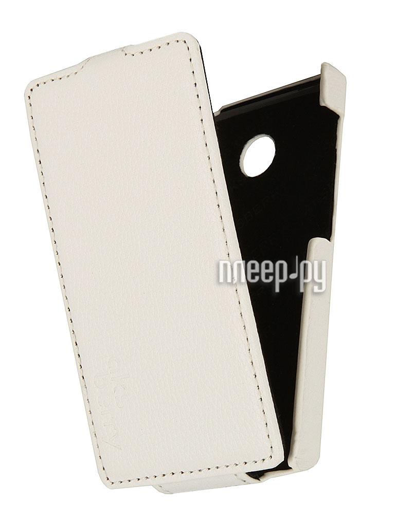 Аксессуар Чехол Nokia X Aksberry White  Pleer.ru  1129.000