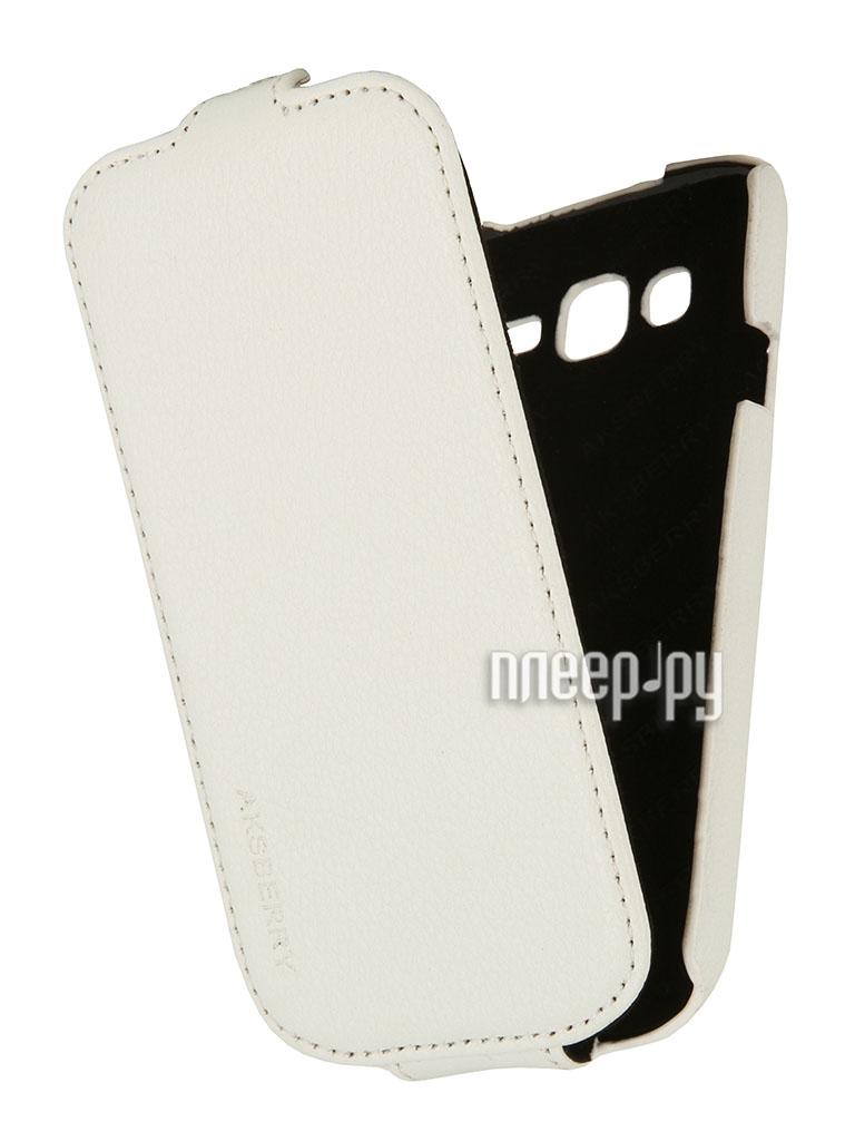 Аксессуар Чехол Samsung GT-i9060 Galaxy Grand Neo Aksberry White  Pleer.ru  1129.000