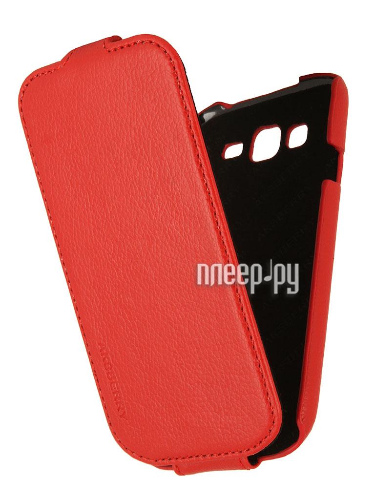 Аксессуар Чехол Samsung GT-i9060 Galaxy Grand Neo Aksberry Red  Pleer.ru  1129.000