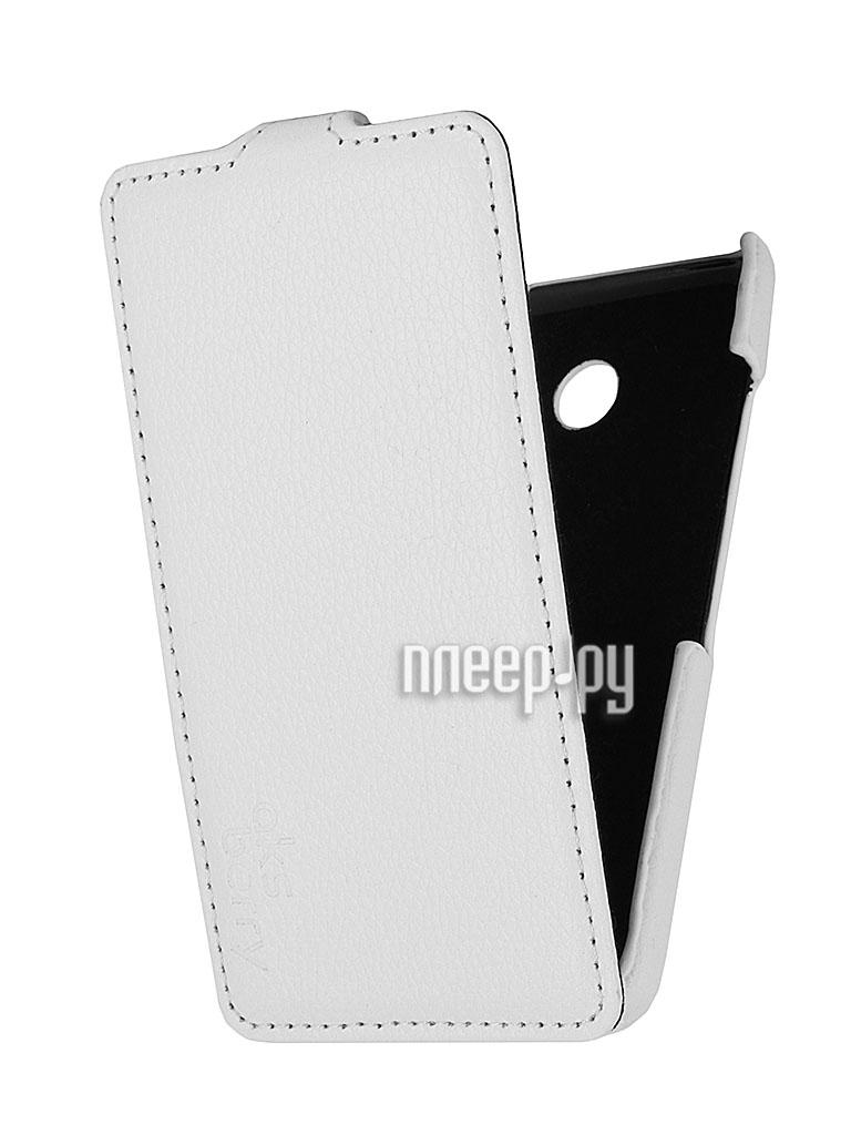 Аксессуар Чехол Nokia Lumia 630 / 635 Aksberry White  Pleer.ru  1129.000