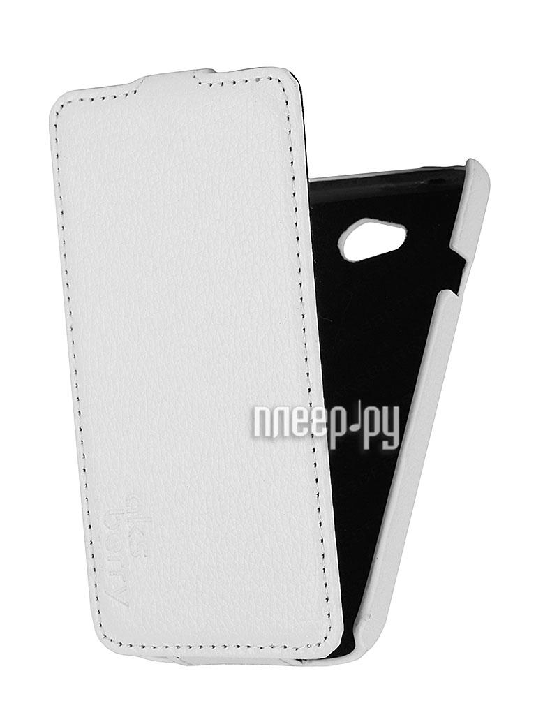 Аксессуар Чехол LG L70 D325 Aksberry White  Pleer.ru  1129.000
