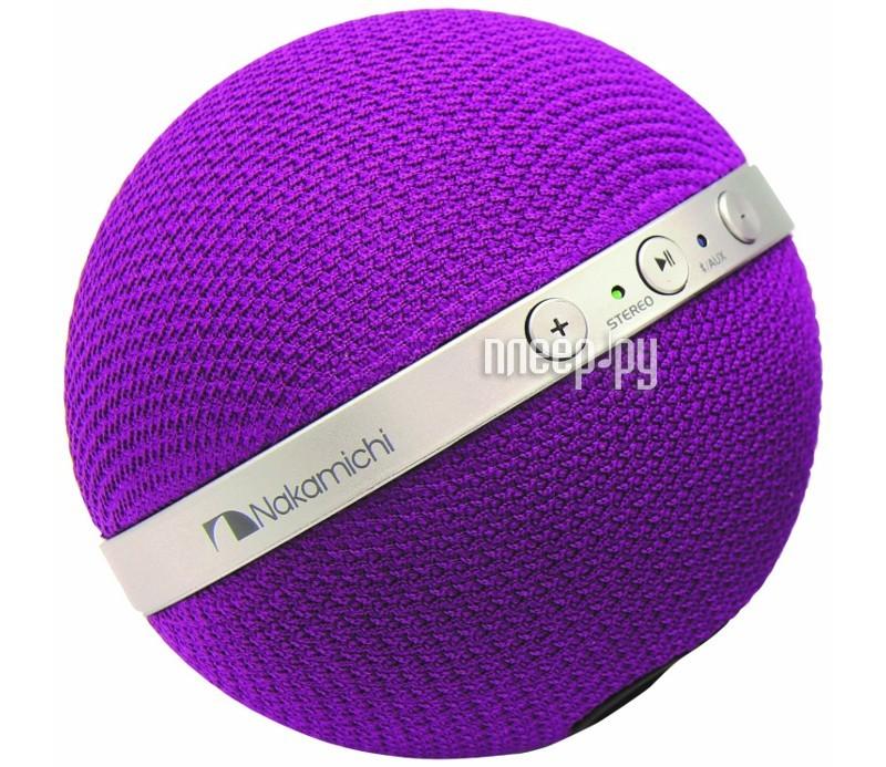 Колонка Nakamichi NBS10 Purple