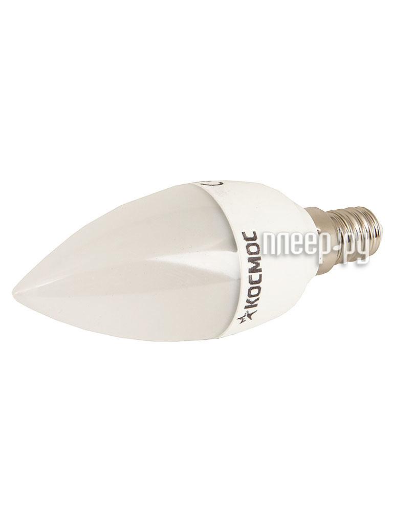 Лампочка Космос E14 7W 230V 4500K Lksm_LED7wCNE1445  Pleer.ru  238.000