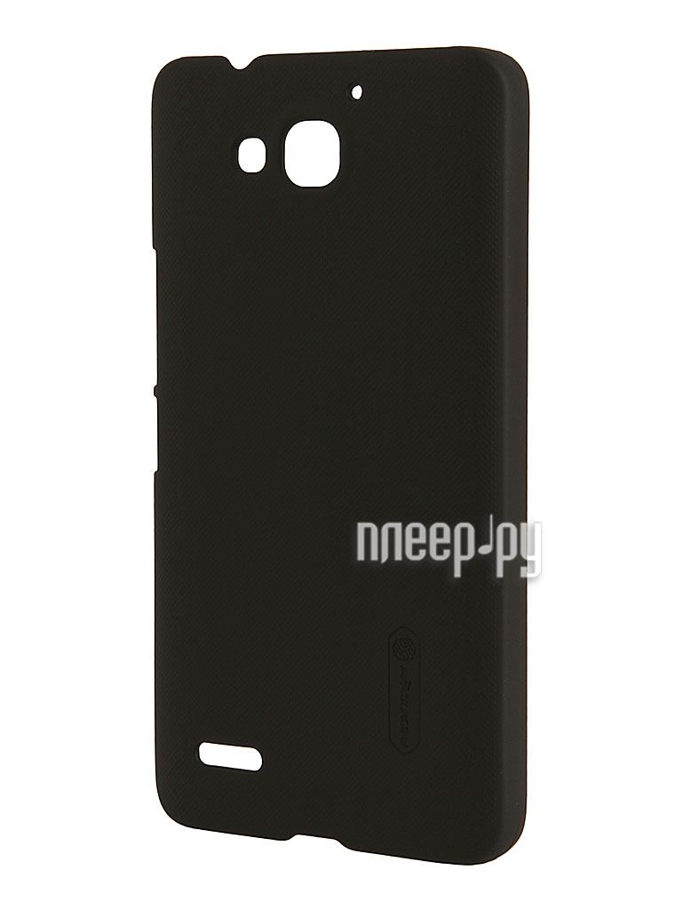 Аксессуар Чехол Huawei Honor 3X G750 Nillkin Super Frosted Shield Black T-N-HHG750-002  Pleer.ru  1118.000